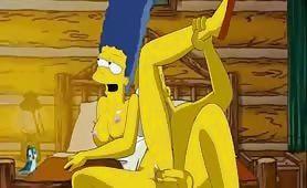 Marge und Homer beim gratis Sex - Die Simpsons