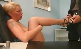 Fußfetisch Sexclip